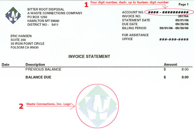 Invoice Illustration